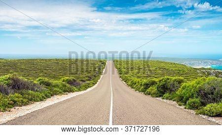 Scenic Road Along The Kangaroo Island Coast,  South Australia