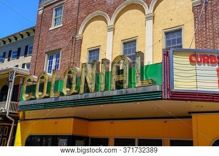 The Colonial Theatre Sign