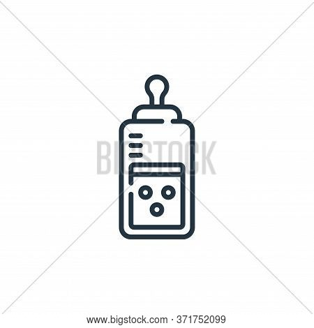 feeding bottle icon isolated on white background from  collection. feeding bottle icon trendy and mo