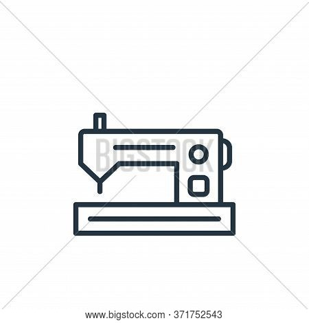 sewing machine icon isolated on white background from  collection. sewing machine icon trendy and mo