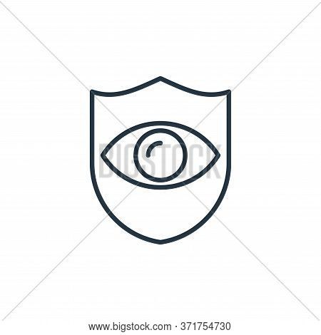 eye insurance icon isolated on white background from  collection. eye insurance icon trendy and mode