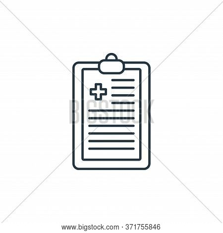 diagnosis icon isolated on white background from  collection. diagnosis icon trendy and modern diagn
