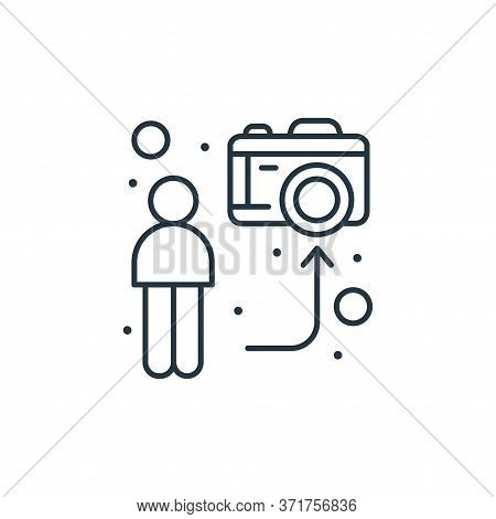 streaming icon isolated on white background from  collection. streaming icon trendy and modern strea