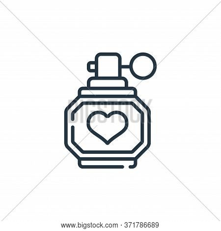 perfume icon isolated on white background from  collection. perfume icon trendy and modern perfume s