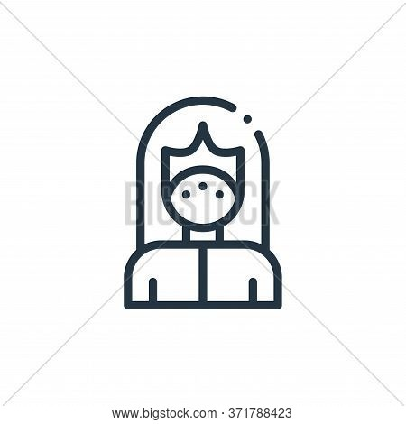 mask icon isolated on white background from  collection. mask icon trendy and modern mask symbol for