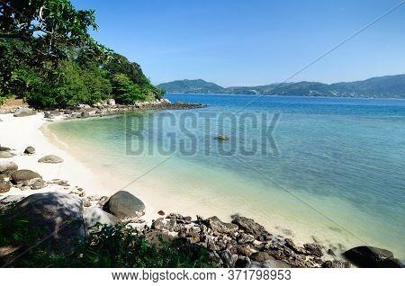 Beautiful Bay In The Andaman Sea, Phuket.