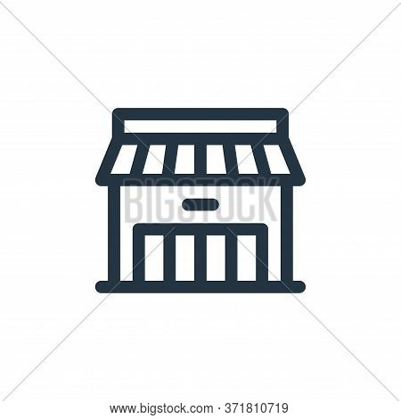 store icon isolated on white background from  collection. store icon trendy and modern store symbol