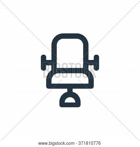 chair icon isolated on white background from  collection. chair icon trendy and modern chair symbol