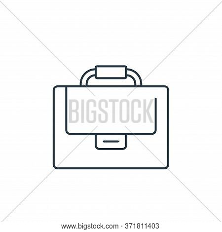 suitcase icon isolated on white background from  collection. suitcase icon trendy and modern suitcas