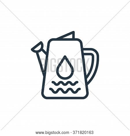 water pot icon isolated on white background from  collection. water pot icon trendy and modern water