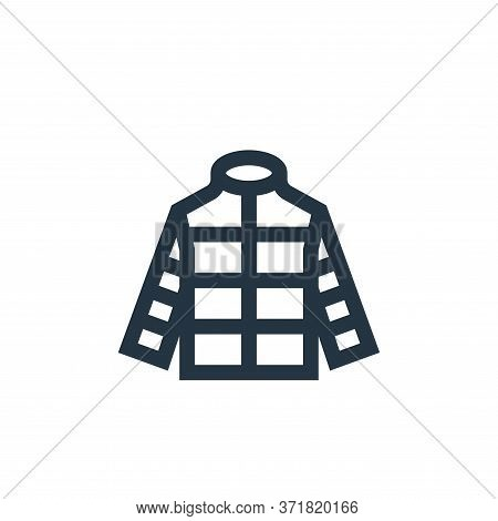 jacket icon isolated on white background from  collection. jacket icon trendy and modern jacket symb