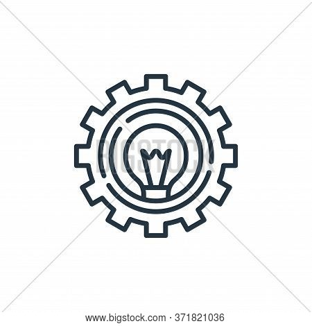 idea icon isolated on white background from  collection. idea icon trendy and modern idea symbol for