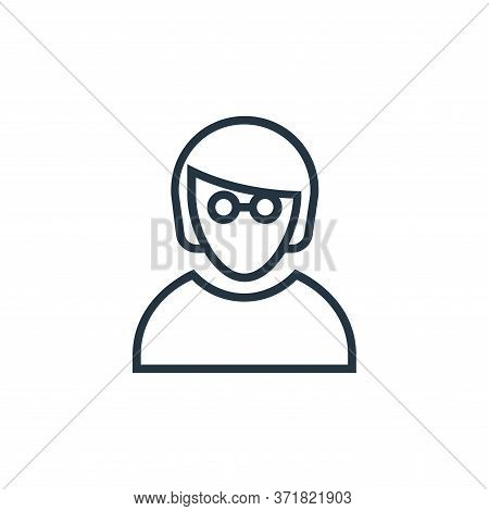 employee icon isolated on white background from  collection. employee icon trendy and modern employe