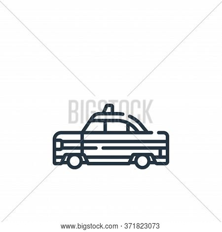 taxi icon isolated on white background from  collection. taxi icon trendy and modern taxi symbol for