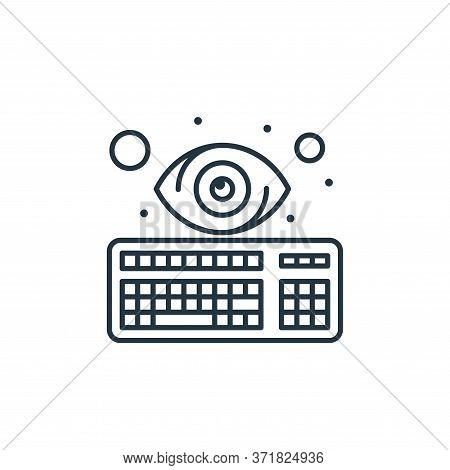 cyber attack icon isolated on white background from  collection. cyber attack icon trendy and modern