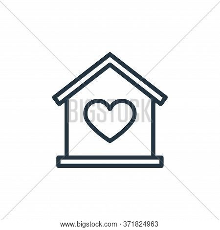 home icon isolated on white background from  collection. home icon trendy and modern home symbol for