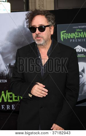 LOS ANGELES - SEP 24:  Tim Burton arrives at the