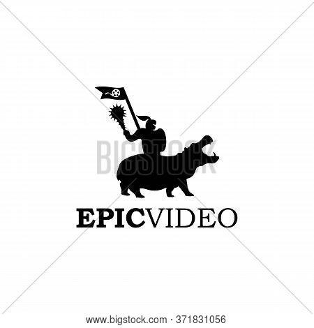 Epic Video Logo Vector And Templates  Design
