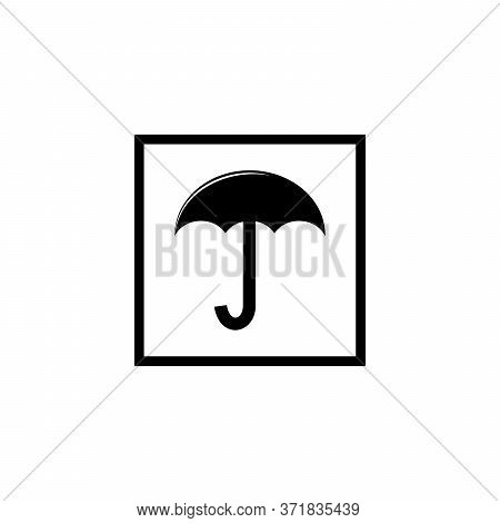 Simple Design Umbrella Logo For Goods Sign, Umbrella Logo For Signs Avoid From The Heat Of The Sun,