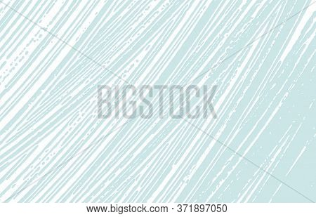 Grunge Texture. Distress Blue Rough Trace. Creative Background. Noise Dirty Grunge Texture. Alive Ar