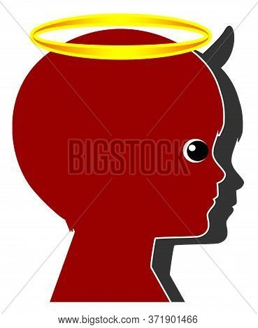 Little Angel, Little Devil. The Behavior Of Kids In Early Childhood Can Switch From Being Nice To Re