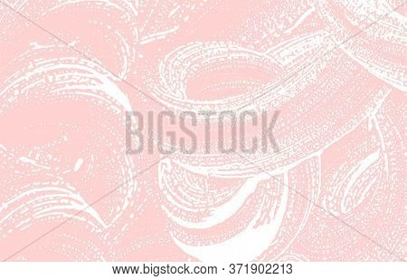 Grunge Texture. Distress Pink Rough Trace. Good-looking Background. Noise Dirty Grunge Texture. Cool