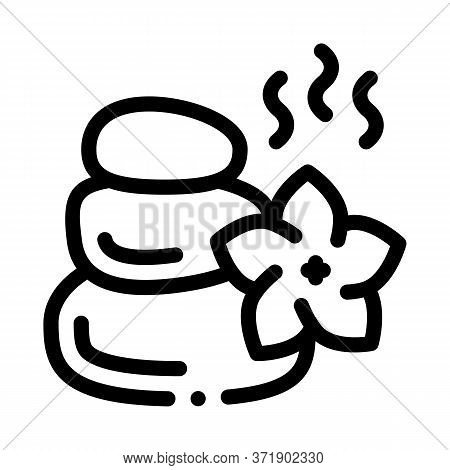 Action Of Miracle Stones Icon Vector. Action Of Miracle Stones Sign. Isolated Contour Symbol Illustr