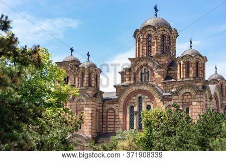 St. Mark's Church, Serbian Orthodox Christian Church In Belgrade, Serbia