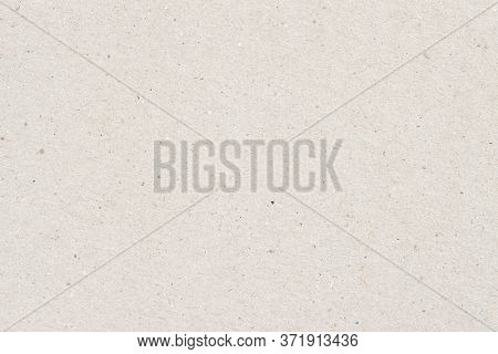 Texture Of Old Organic Light Cream Paper With Wrinkles, Background For Design, Copy Space. Recyclabl