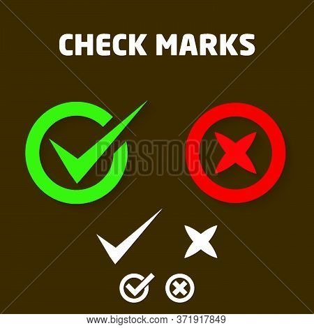 Button Icons For: Accepted Rejected, Approved Disapproved, Yes No, Right Wrong, Green Red, Correct F
