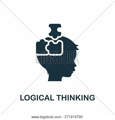 Logical Thinking Icon. Simple Element From Child Development Collection. Creative Logical Thinking I