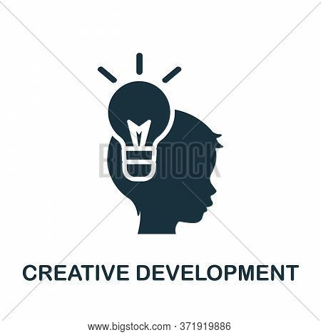 Creative Development Icon. Simple Element From Child Development Collection. Creative Creative Devel