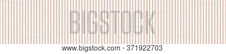 Seamless Red Grey Vector Geometric Stripe Border Pattern. Mid Century Modern Woven Linen Texture Sty