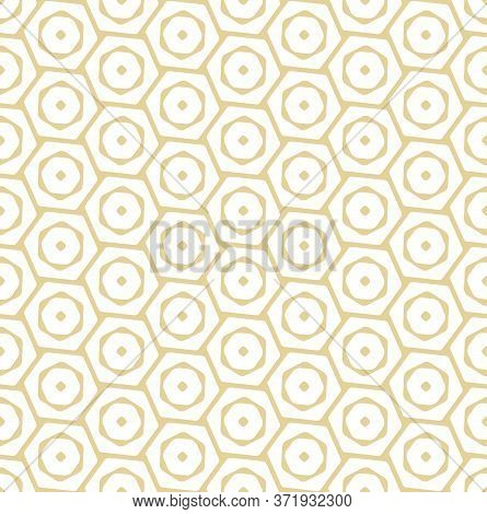 Repetitive Classic Vector Luxury, Repeat Pattern. Continuous Ornament Graphic Hexagon Deco Texture.