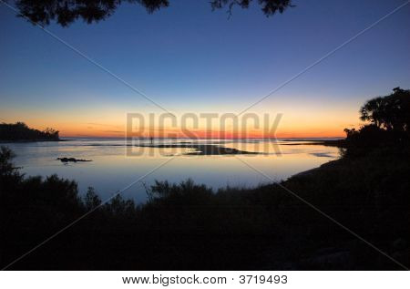 Shell Island Sunset 3