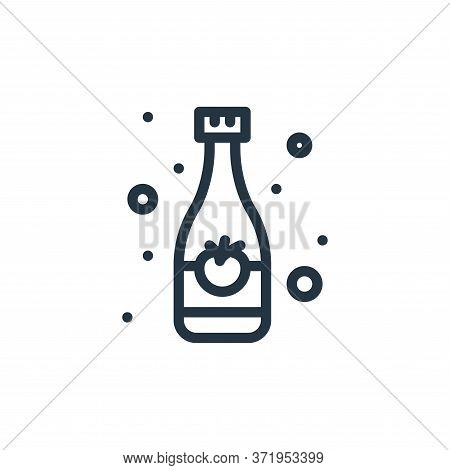 drink bottle icon isolated on white background from  collection. drink bottle icon trendy and modern