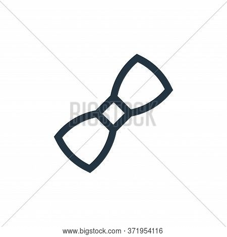 bow tie icon isolated on white background from  collection. bow tie icon trendy and modern bow tie s