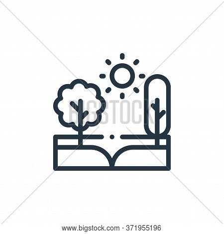 trees icon isolated on white background from  collection. trees icon trendy and modern trees symbol