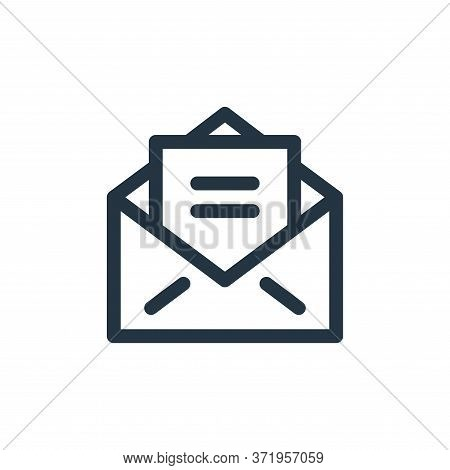 email icon isolated on white background from  collection. email icon trendy and modern email symbol