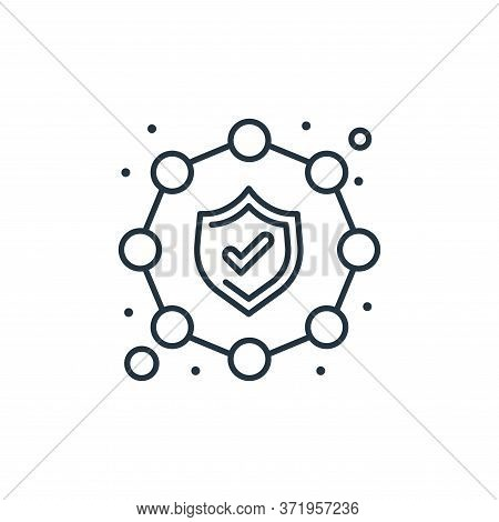 security icon isolated on white background from  collection. security icon trendy and modern securit