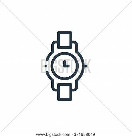 watch icon isolated on white background from  collection. watch icon trendy and modern watch symbol