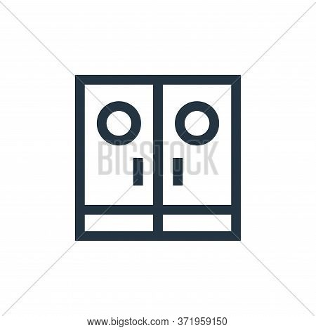 entrance icon isolated on white background from  collection. entrance icon trendy and modern entranc