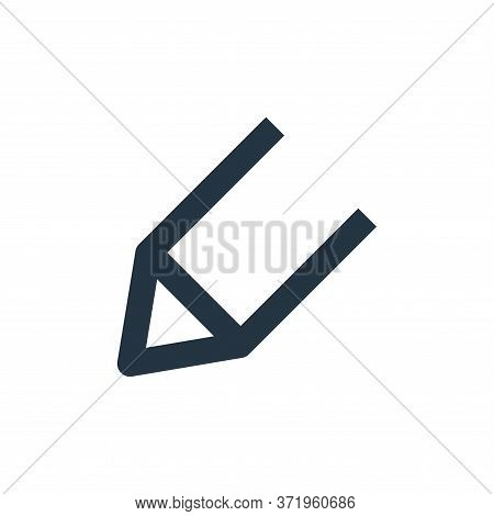 pencil icon isolated on white background from  collection. pencil icon trendy and modern pencil symb