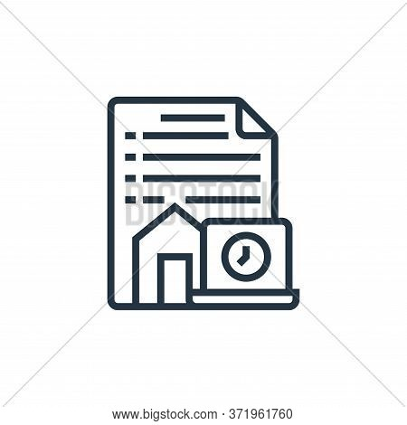 terms and conditions icon isolated on white background from  collection. terms and conditions icon t