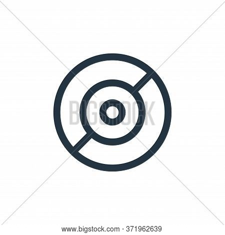 cd icon isolated on white background from  collection. cd icon trendy and modern cd symbol for logo,