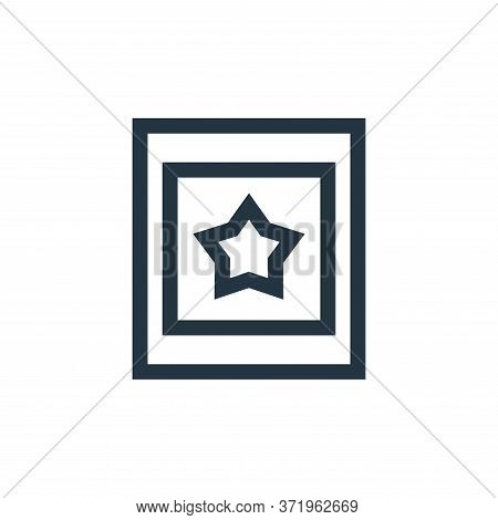 walk of fame icon isolated on white background from  collection. walk of fame icon trendy and modern