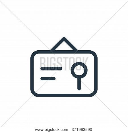 certificate icon isolated on white background from  collection. certificate icon trendy and modern c