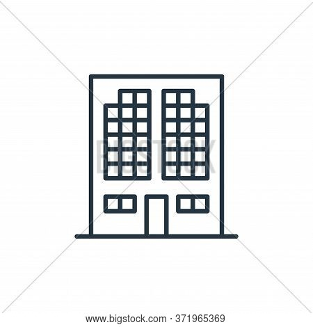 building icon isolated on white background from  collection. building icon trendy and modern buildin