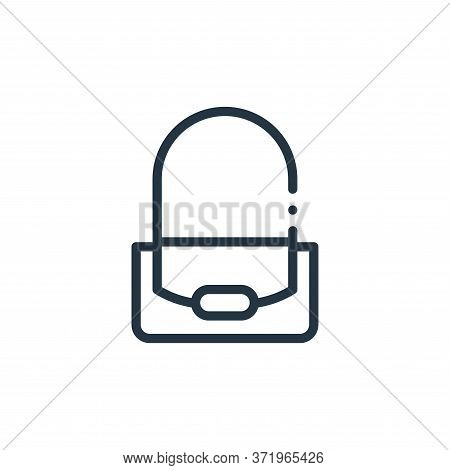 purse icon isolated on white background from  collection. purse icon trendy and modern purse symbol