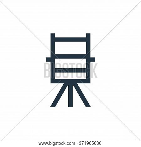 directors chair icon isolated on white background from  collection. directors chair icon trendy and